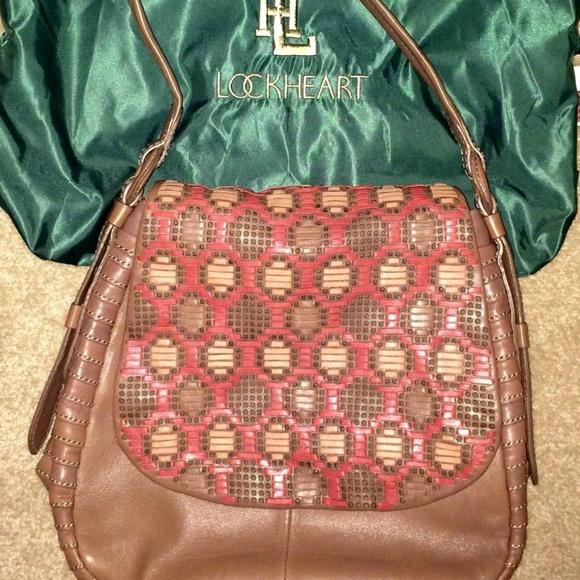 Lockheart Handbags - Rare Vintage Lockheart Shoulder/Crossbody